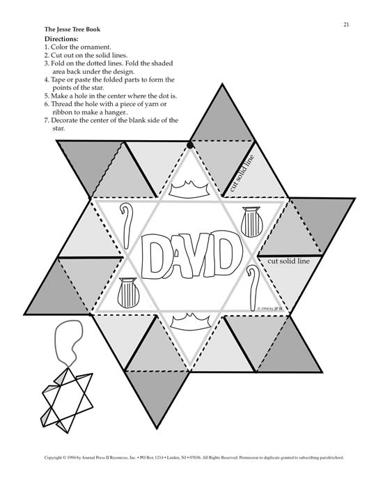 jesse tree ornament templates - jesse tree ornaments coloring pages